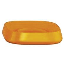 Kleine Wolke Accessoires Seifenschale Trixy, Orange 2,5 x 11 cm