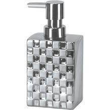 Kleine Wolke Accessoires Seifenspender Check, Silber Seifenspender