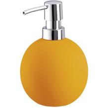 Kleine Wolke Accessoires Seifenspender Energy, Orange 15 x 9 cm, Volumen 450 ml