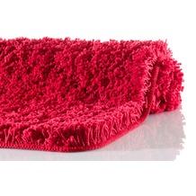 Kleine Wolke Badteppich Trend Rot 55 cm x 55 cm WC-Vorleger mit Ausschnitt