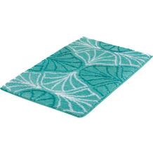 Kleine Wolke Badteppich Bloom Salbeigrün 60x90 cm