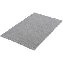 Kleine Wolke Badteppich Chrissy Silbergrau 55x 65 cm