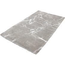 Kleine Wolke Badteppich Como, Silbergrau 60 x 60 cm