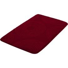 Kleine Wolke Badteppich Cosima Granat 55x 65 cm