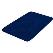 Kleine Wolke Badteppich Cosima Sor.-Azurblau 55x 65 cm