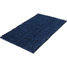 Kleine Wolke Badteppich Delight Dunkelblau 60x 60 cm