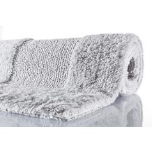 Kleine Wolke Badteppich Havanna Silbergrau 47 cm x 50 cm Deckelbezug
