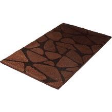 Kleine Wolke Badteppich Inspire Nussbraun 60 cm x 100 cm