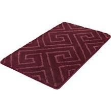 Kleine Wolke Badteppich Jenna Purple 55x 65 cm