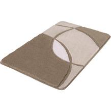 Kleine Wolke Badteppich Kent Macadamia 55x 65 cm
