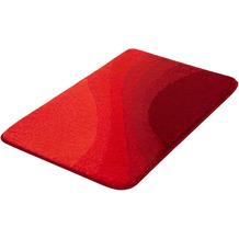 Kleine Wolke Badteppich Malin Granat 60x 90 cm
