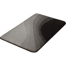 Kleine Wolke Badteppich Malin Schiefer 60x 90 cm