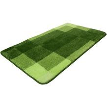 Kleine Wolke Badteppich Mix Kiwigrün 55x 65 cm