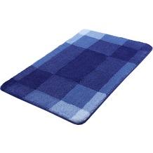 Kleine Wolke Badteppich Mix Marineblau 55x 65 cm