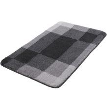 Kleine Wolke Badteppich Mix Schiefer 55x 65 cm
