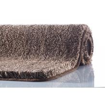 Kleine Wolke Badteppich Relax Mahagoni WC-Vorleger 55x 55 cm mit Ausschnitt