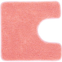 Kleine Wolke Badteppich Relax Pastellrose 47 cm x 50 cm Deckelbezug