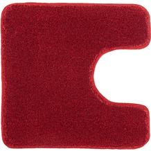 Kleine Wolke Badteppich Relax Rubin 47 cm x 50 cm Deckelbezug