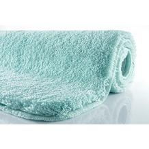Kleine Wolke Badteppich Relax Salbeigrün 55 cm x 55 cm WC-Vorleger mit Ausschnitt