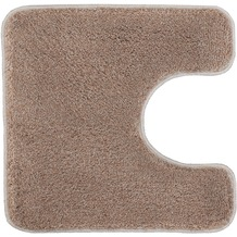 Kleine Wolke Badteppich Relax Taupe 47 cm x 50 cm Deckelbezug