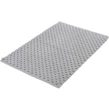 Kleine Wolke Badteppich Santiago Silbergrau 60x 90 cm