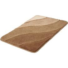Kleine Wolke Badteppich Serenade Taupe 60 cm x 90 cm