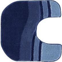 Kleine Wolke Badteppich Siesta Sor.-Azurblau 60 cm x 100 cm oval
