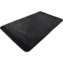 Kleine Wolke Badteppich Singapur Schwarz 60 cm x 100 cm