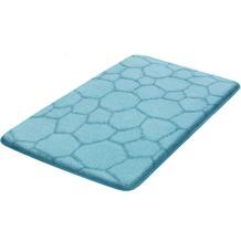 Kleine Wolke Badteppich Soapy Wasserblau 50x 60 cm