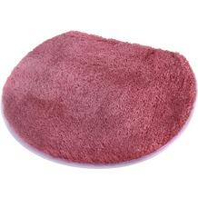 Kleine Wolke Badteppich Soft, Malve 47 x 50 cm Deckelbezug
