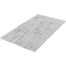 Kleine Wolke Badteppich Sway Platin 60x 60 cm