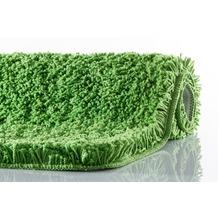 Kleine Wolke Badteppich Trend Kiwigrün 55 cm x 55 cm WC-Vorleger mit Ausschnitt