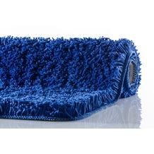 Kleine Wolke Badteppich Trend Kobaltblau 55 cm x 55 cm WC-Vorleger mit Ausschnitt