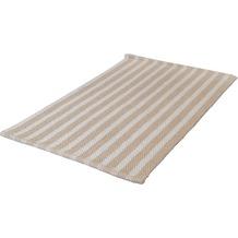Kleine Wolke Badteppich Valencia, Beige 55x 85 cm
