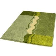 Kleine Wolke Badteppich Vanessa Palme 55 cm x 55 cm WC-Vorleger mit Ausschnitt