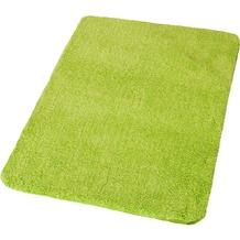 Kleine Wolke Badteppich Wilna, Grün 55x 55 cm WC-Vorleger mit Ausschnitt