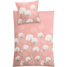 Kleine Wolke Bettwäsche Cotton, rose 1-135x200 /1- 80x 80