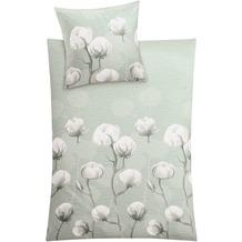 Kleine Wolke Bettwäsche Cotton, schilf 1-135x200 /1- 80x 80