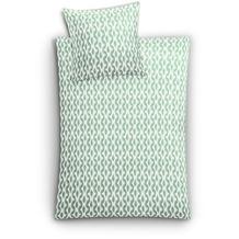 Kleine Wolke Bettwäsche Faro, Farn 135x200 / 80x80 cm