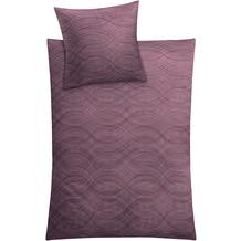 Kleine Wolke Bettwäsche Shiraz Rouge 155 cm x 220 cm & 80 cm x 80 cm