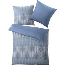 Kleine Wolke Bettwäsche Tudor Blau 1-155x220 /1- 80x 80