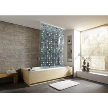 Kleine Wolke Duschrollo für Leerkassette Blue 128 cm x 240 cm