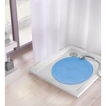 Kleine Wolke Duscheinlage Arosa, Blau Duscheinlage 55x 55 cm