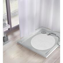 Kleine Wolke Duscheinlage Arosa, Weiß Duscheinlage 55x 55 cm