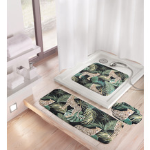 Kleine Wolke Dusch- & Wanneneinlage Safari Green Duscheinlage 55x 55 cm