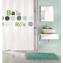 Kleine Wolke Duschvorhang Bathroom Mint 180 x 200 cm (Breite x Höhe)
