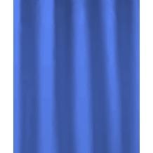 Kleine Wolke Duschvorhang Kito, Krokusblau 180x180 cm (Breite x Höhe)