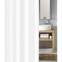 Kleine Wolke Duschvorhang Phönix Weiß 120 x 200 cm (Breite x Höhe)
