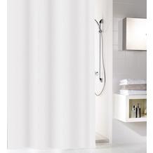 Kleine Wolke Duschvorhang Sparkle Weiß 180 x 200 cm (Breite x Höhe)