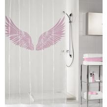 Kleine Wolke Duschvorhang Wings Flamingo 180 x 200 cm (Breite x Höhe)